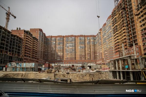 «Нарымский квартал» — одна из самых масштабных и в то же время самых длительных строек Новосибирска