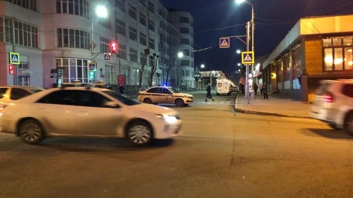 В Самаре оцепили улицу Куйбышева