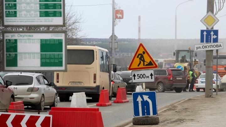 В Перми на несколько месяцев перекроют движение по Монастырской и Попова возле Коммунального моста