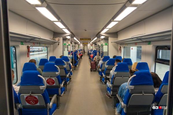 Первые пассажиры продленного маршрута отправились с железнодорожного вокзала Жигулевска