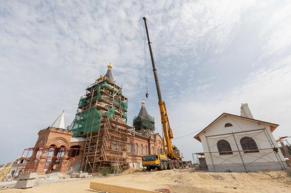 Храм заложили еще в 1862 году