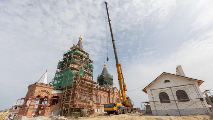 Игорь Алтушкин помог восстановить храм XIX века в уральском селе