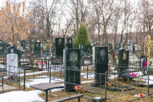 Инцидент произошел на кладбище