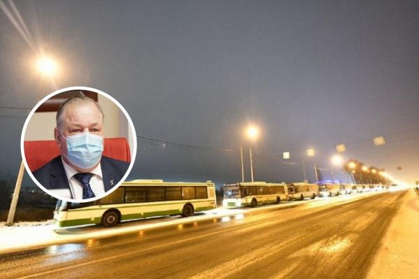 Виктор Волончунас высказался о бесплатном общественном транспорте