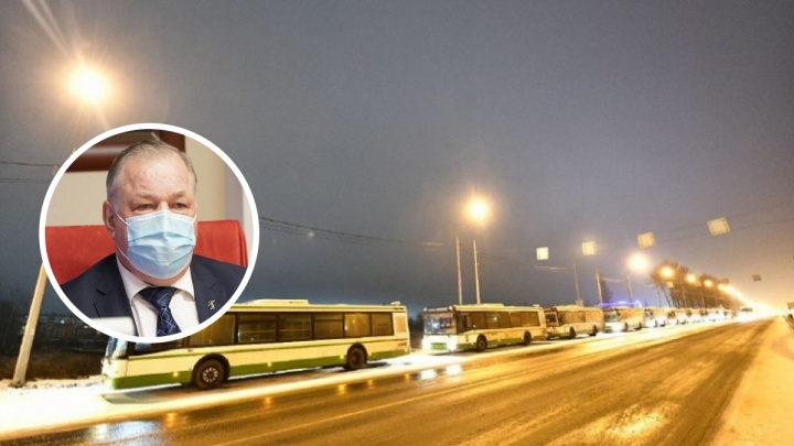 «Мы так же делали 30 лет назад»: экс-мэр рассказал о подаренных Ярославлю автобусах со 100% износом