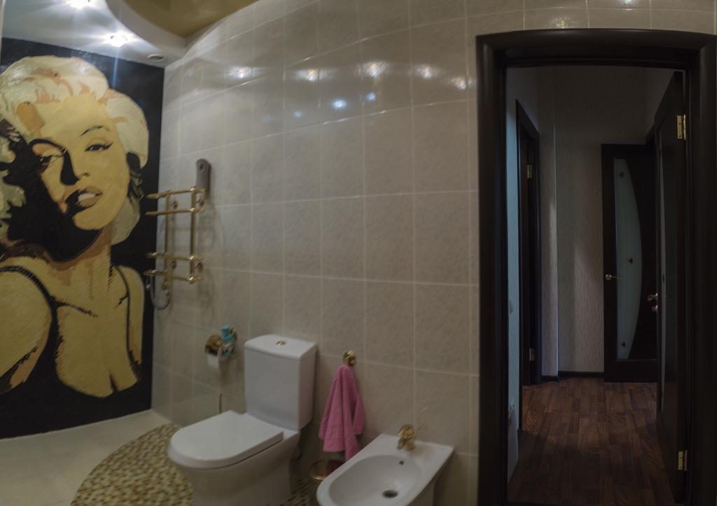 Неожиданное решение для ванной комнаты