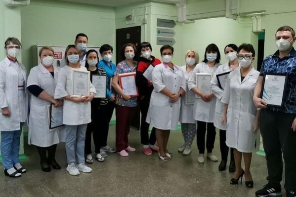 Медики госпиталя на Кутузова, работавшие в «красной» зоне