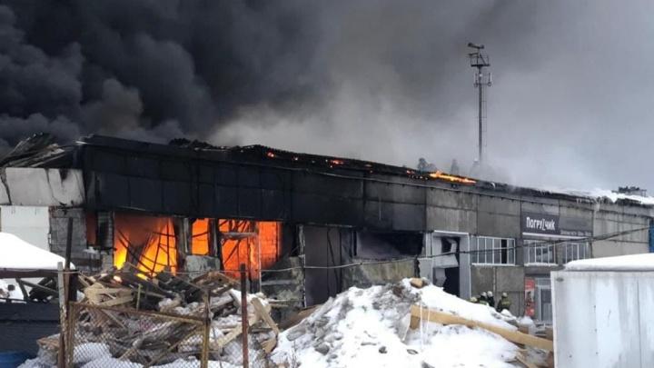 Общежитие в Сургуте загорелось из-за поджога, один человек погиб