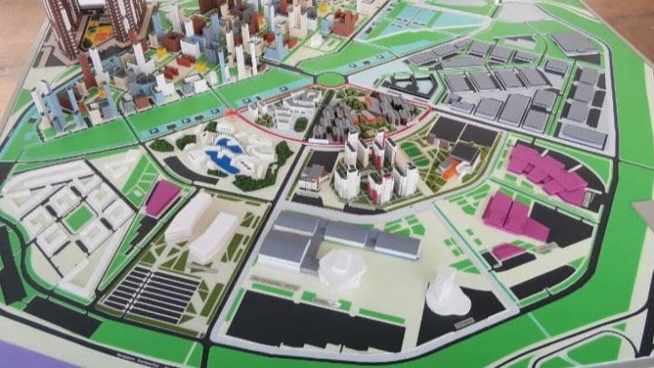 Город в городе: уральский миллиардер Пумпянский заложил первый камень гигантского района