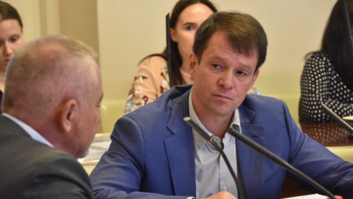 Дмитрий Малютин стал председателем гордумы. Депутаты назвали его сильным и смелым