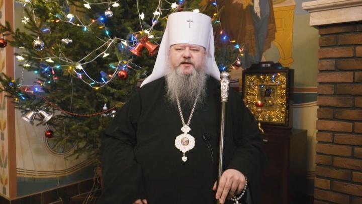В рождественском послании митрополит Корнилий сказал про закрытые храмы и «вредоносное поветрие»