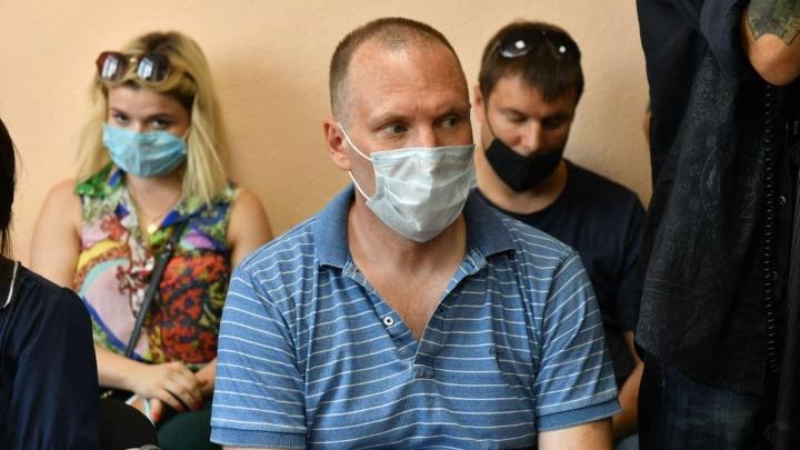 Суд вынес приговор бывшему гендиректору «Титановой долины», задержанному за взятку: прямой эфир