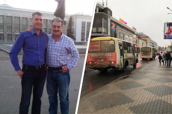 Питер Эллис и его российский коллега