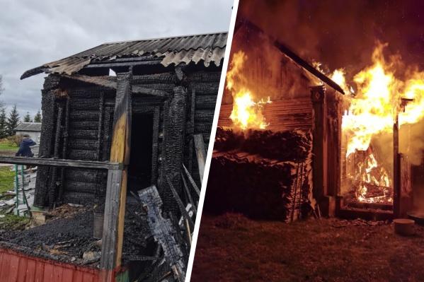 Здание бани принадлежало депутату муниципалитета Ярославля, который живет в этой деревне