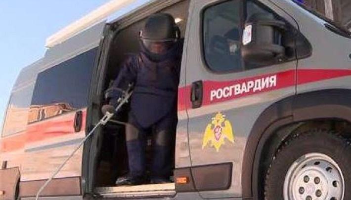 На стройплощадке в Перми нашли 210-миллиметровый артиллерийский снаряд