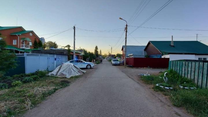 В Уфе пьяный водитель сбил двоих детей возле дома