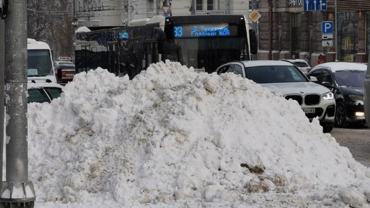 Прокуратура нашла нарушения при уборке Ростова после снегопада