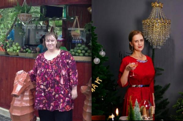 Максимальный вес Натальи был 135 килограммов