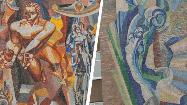 Как мозаика протащила запрещенный авангард в СССР. Пример Красноярска