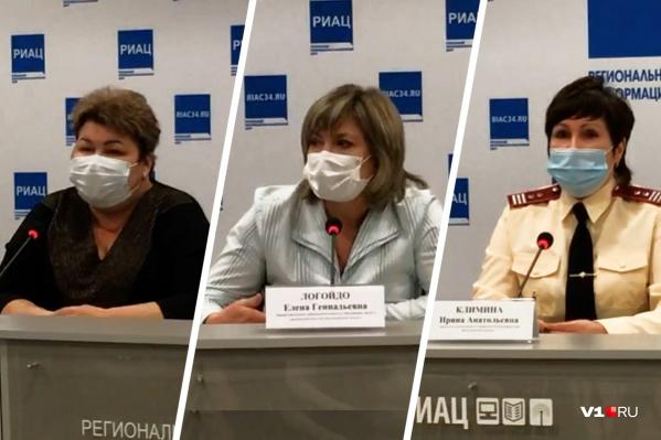 Об инфекциях рассказывали представители облздрава, комитета образования и Роспотребнадзора