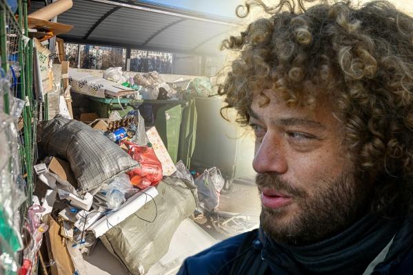 По мнению Ильи Варламова, в городе не хватает урн и контейнеров