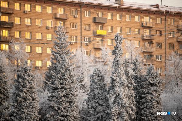 В Новосибирске начнет опускаться температура в ночь с субботы на воскресенье