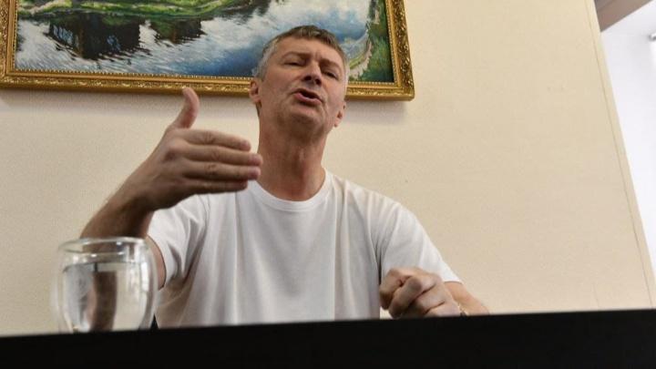 Евгений Ройзман отказался от борьбы за место в Госдуме