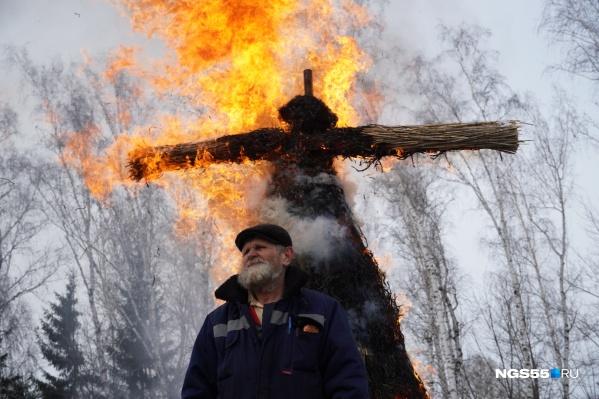 Сжигать чучело зимы придется лишь в своем воображении