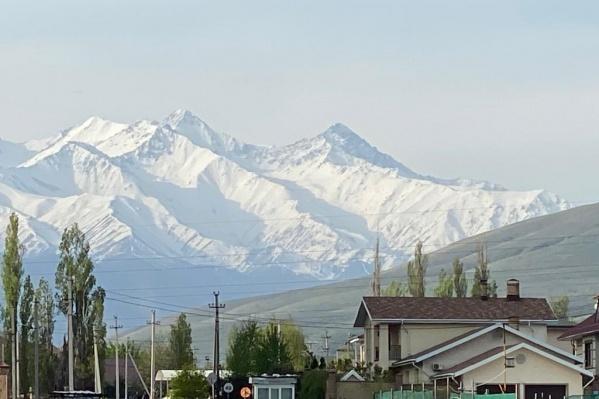 Горы занимают больше 75% территории Киргизии