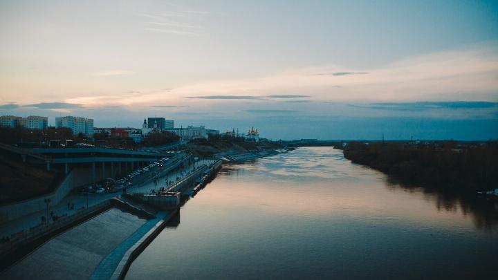 Тюменский архитектор предложил построить на Туре плавучие бульвары