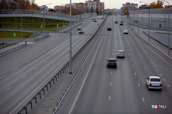 """Протяженность автодороги составит около <nobr class=""""_"""">21 километра</nobr>"""