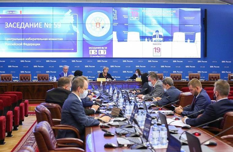ЦИК утвердил результаты выборов в Госдуму