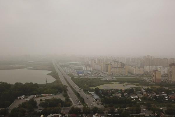 Из-за сильных пожаров в Якутии — в Тюмени и Кургане упала видимость