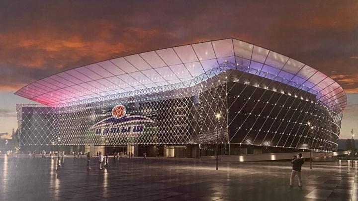 Больше, чем «Арена»: президент «Иртыша» показал эскиз нового футбольного стадиона в Омске