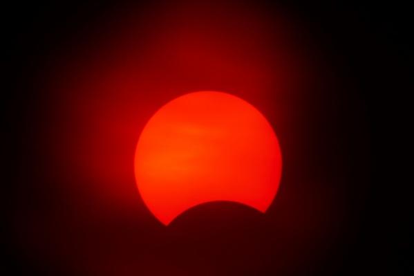 Луна закроет 27% поверхности солнечного диска