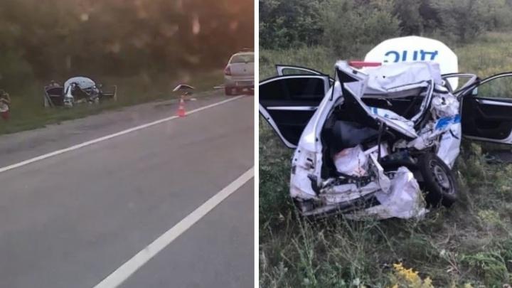 Стали известны причины массовой аварии с участием большегруза и автомобиля ДПС