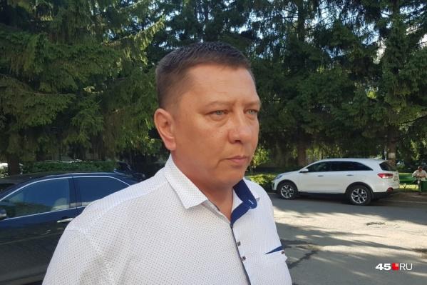 Гонцов работал в мэрии Кургана с 2013 года