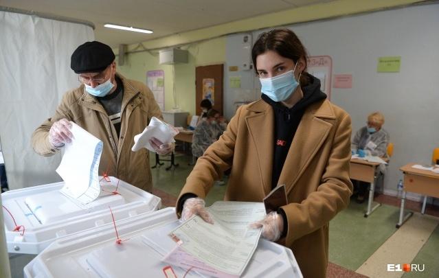 Экзитпол: 5-процентный барьер в Госдуму взяли четыре партии, у «Единой России» 45,2% голосов