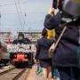 В Ростов приехал поезд Победы. Показываем, как его встречали