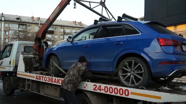Владелец AudiQ3 заплатил полмиллиона штрафов, чтобы вернуть конфискованную приставами машину
