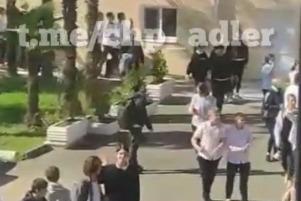 В Сочи из школы эвакуировали 126 человек из-за короткого замыкания