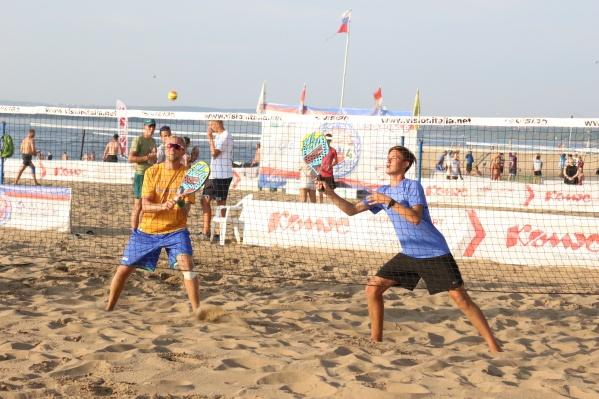 Игры пройдут по четырем видам пляжного спорта: волейбол, футбол, теннис, регби