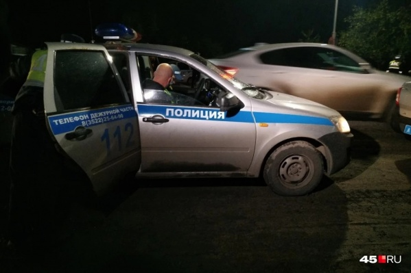 В этом году зауральским полицейским не раз пришлось гнаться за пьяными водителями, которые отказывались останавливаться