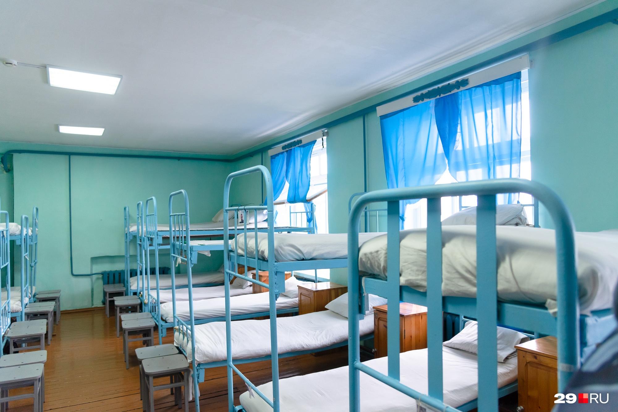 Вот, например, спальные места