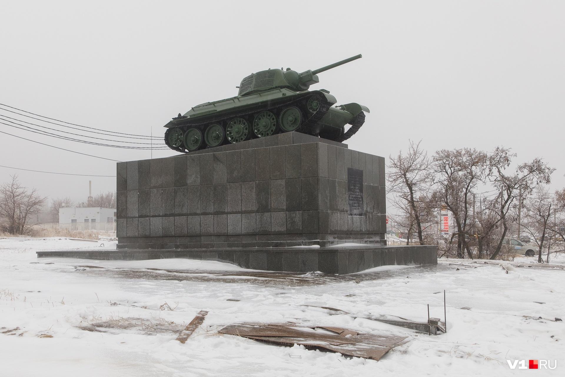 После реставрации танк «помолодел» на несколько десятков лет