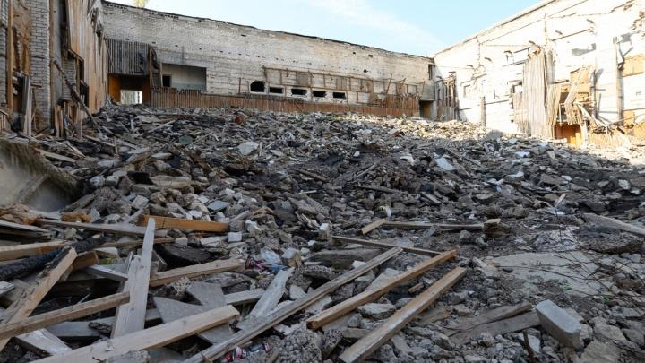 В Волгограде хотят продать остатки кинотеатра «Юбилейный»
