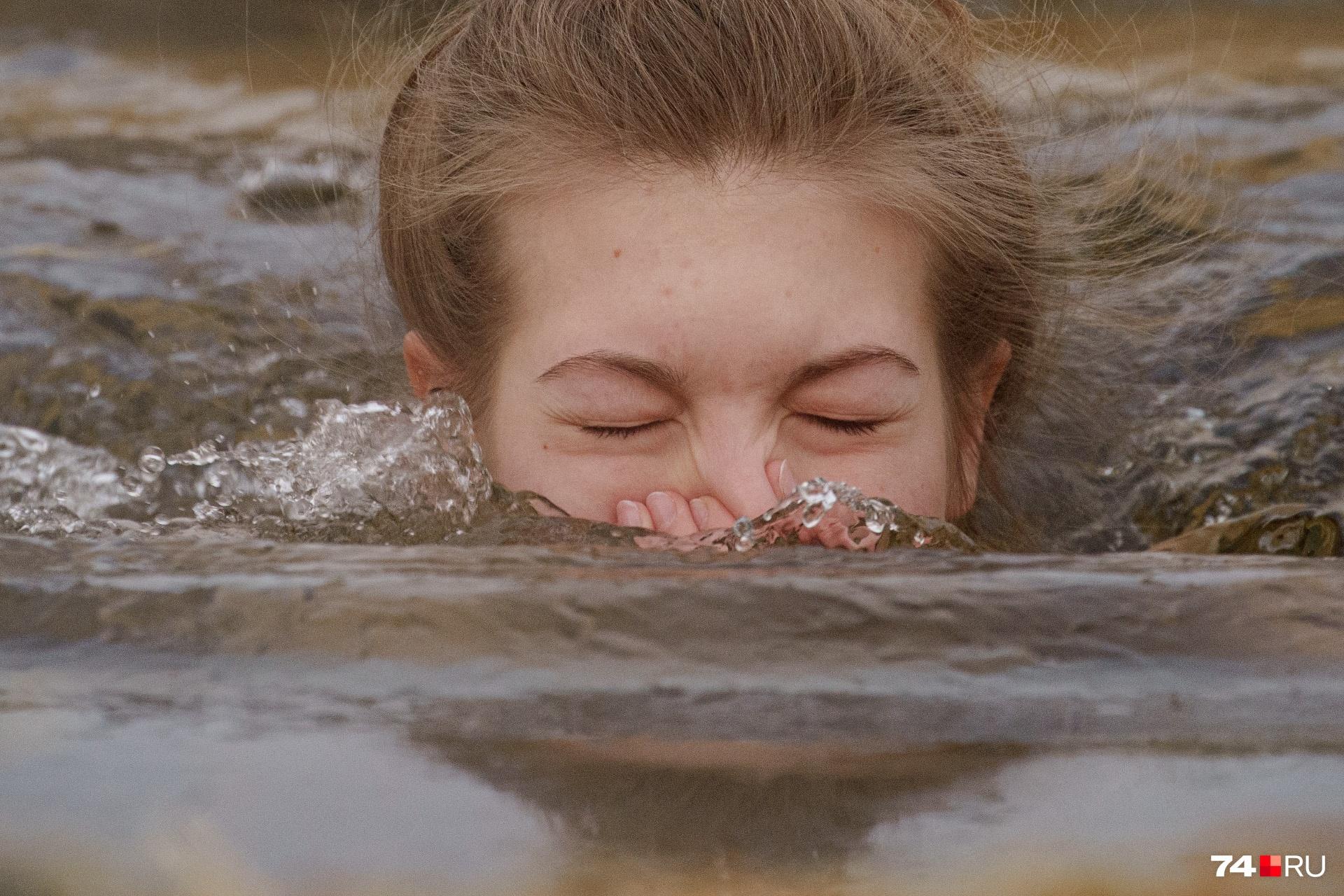 Считается, что погружаться в воду надо трижды, но первый раз — самый пугающий