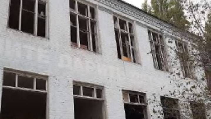 В Волгограде выставлены на торги руины школы № 63