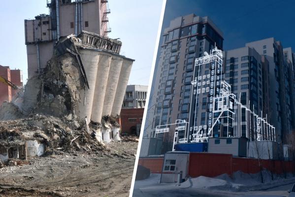 В новой серии узнаем, что осталось от четырех снесенных зданий