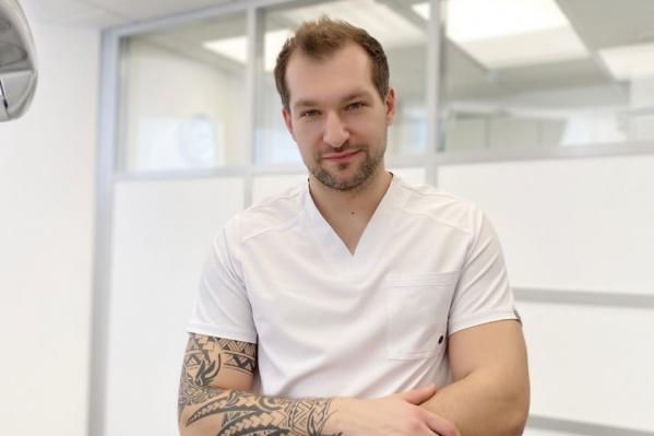 Врач-имплантолог Центра стоматологии «Белой Аптеки» Тарас Андреевич Летягин